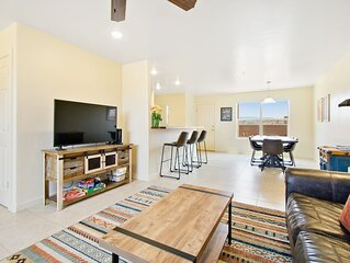 New listing! Brand new condo w/ shared pool & hot tub: close to national parks!