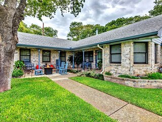 Storied home close to Main Street w/ covered porch and Texas charm!