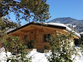 Chalet individuel avec terrasse et jardin privé,  proximité du lac d'Annecy