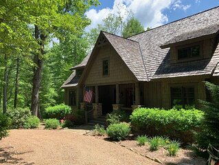 Cashiers, N.C.- Luxury Mountain Home in Private Gated Community