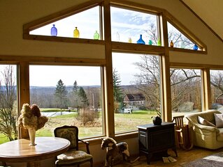 Country Home with Farm Views less than 2 hrs from NYC