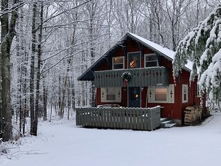 Nordic ski chalet near Big Powderhorn Mountain with pull-through driveway!