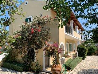 Large villa, seaview,  nice pool area,  very big pool, walking distance beach