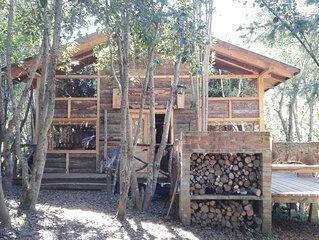 Cabana Rustica Maravillosa