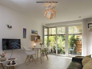 Apartment 2, 34qm, 1 Schlafzimmer, max. 2 Personen