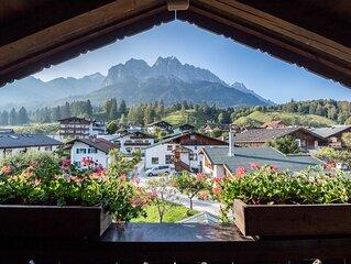 Ferienwohnung Gipfelblick mit Bergblick, Balkon & WLAN; Parkplatze vorhanden