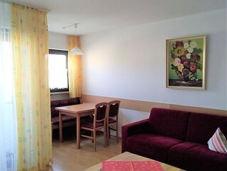 Ruhiges, gemütliches Ferienappartement (ca. 40qm) mit Loggia