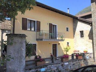 Charmantes Ferienhaus mitten im Dorfzentrum von Verscio, Centovalli Tessin
