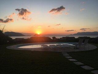 Villa Madre, freistehende Villa mit privatem Pool und spektakulärem Meerblick