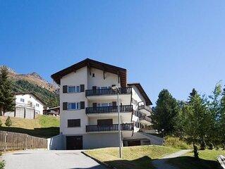 Ferienwohnung Pontresina fur 4 Personen mit 2 Schlafzimmern - Ferienwohnung
