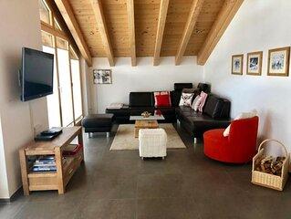 Ferienwohnung Zermatt für 4 Personen mit 2 Schlafzimmern - Ferienwohnung