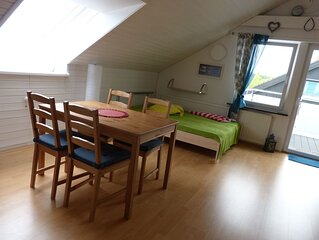 Ferienwohnung, 54qm, 1 Schlafzimmer, max. 4 Personen
