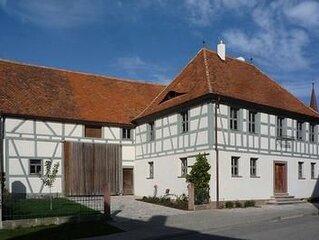Ferienwohnung Bad Windsheim fur 2 - 8 Personen mit 2 Schlafzimmern - Bauernhaus