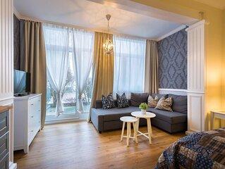Die Strandvilla Mirja befindet sich im Seebad Ahlbeck in hervorragender Lage.