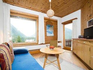 Ferienwohnung Pontresina fur 2 - 5 Personen mit 2 Schlafzimmern - Ferienwohnung