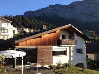 Ferienhaus Flims Dorf fur 12 Personen mit 4 Schlafzimmern - Ferienhaus