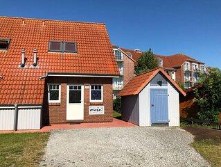 Ferienhaus Steuerbord ruhig gelegen große Terrasse nur 300m zum Strand / Meer
