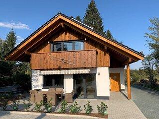 Ferienhaus Sauerland Luxus Chalet in Winterberg Stadt mit Sauna