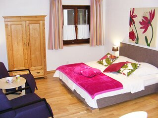 Ferienwohnung, 30 qm Erdgeschoss, kombinierter Wohn- Schlafraum