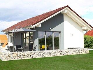 modernes 80m² Ferienhaus 'stilloft_one' mit Blick über Wernigerode
