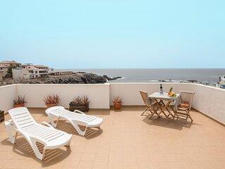 Zentrales Apartment Benitez Umpierrez am Strand mit Terrasse, Meerblick und WLAN