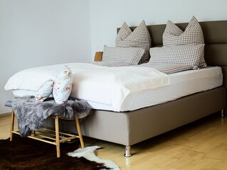Ferienwohnung mit 92qm, 1 Schlafzimmer, 1 Wohn-/Schlafzimmer, max. 5 Personen