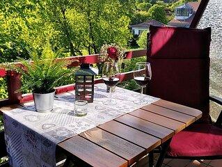 Comfort App, Balkon, Pantry-Küche, Pool, Sauna, Dampfbad, WLAN, Paare, Familie!