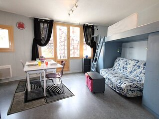 Lovely studio located in front of the Village des