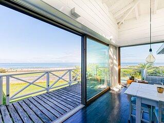 Villa d'architecte front de mer, accès privé à la plage