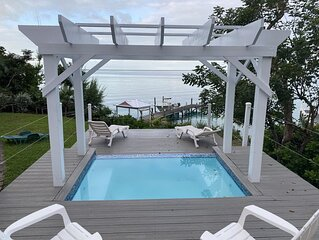 Green Turtle Cay, on Sea of Abaco - Private Dock, Plunge Pool / Spa, Ice Maker
