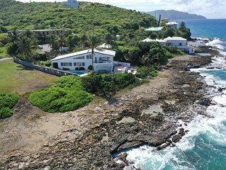Moonwalk - mid century modern luxury villa on North Shore St. Croix