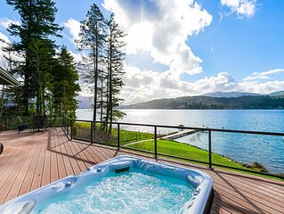Spacious Lake Whatcom Waterfront Home - Luxury from Sunrise to Sunset!
