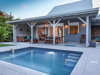 Villa 4-6p – clim / terrasse amenagee / piscine individuelle
