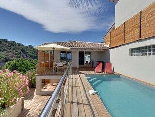 Villa CONCA - BAIE DE FAUTEA - Corse du Sud