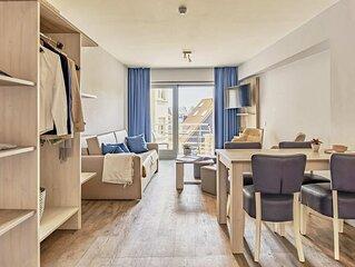 Appartement pour 4 personnes avec balcon et oriente cote sud.