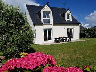 Quiberon Manémeur Maison avec jardin au calme sans vis à vis pour 2 à 10 pers