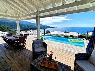 Magnifique villa vue mer et piscine au sel - Emplacement exceptionnel