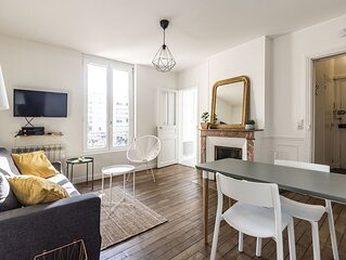 Cosy appartement refait a neuf a moins de 10 min a pieds de la gare !