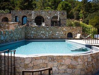 Villa avec piscine privee chauffee, vue mer a 7min a pied de la plage