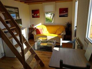 'Les échalas' - Appartement avec cuisine et place privée au cœur du Lavaux