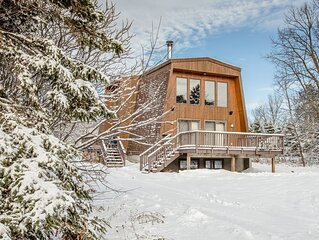 Vacation Home with All Glass Front Windows & Gorgeous View of Ski Hill