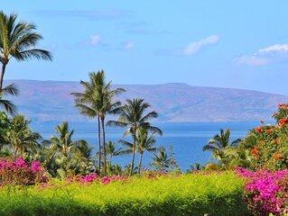 NEW!!!** Wailea Oceanfront Complex True Paradise 41B**