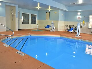 Free Daily Breakfast. Pool & Hot Tub. Great Place to Stay!