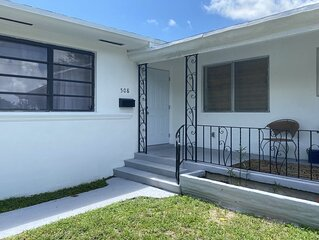 NEWLY RENOVATED HOME Located Minutes from Wynwood, Beach,  Restaurants, and MORE