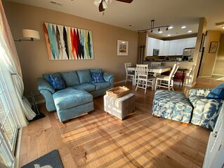 Dog Friendly, 3 BR/2BA Sparkling Modern Condo 2 mi from beach.