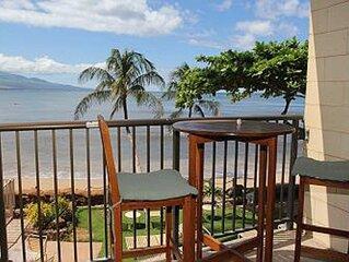 HK-B7 - Maui Oceanfront Condo on the Beautiful Serene Beach of Ma'alaea Bay