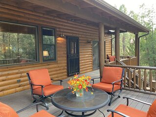 Family getaway in the pines