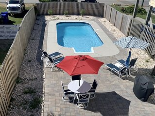 Surf City/ Topsail Island 2nd Row Private Pool!