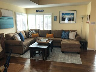 Comfortably appointed AND steps from the beach!!!