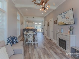 Stunning New Construction in Historic Cape Charles 3 1/2 Blocks to the Beach
